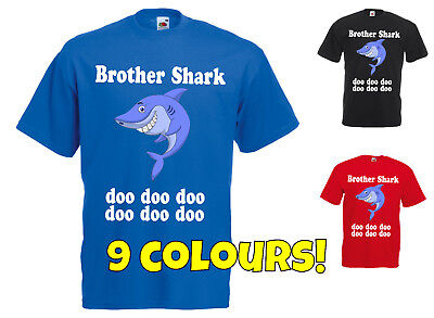 Brother Shark T Shirt Doo Doo Doo Do Doo Viral Song