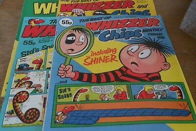 3 Best Of Whizzer And Chips 1980S