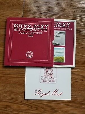 GUERNSEY Brilliant Uncirculated Coin Collection