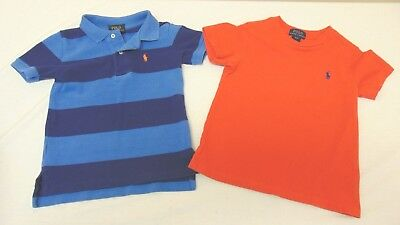 Lot of 2 Toddler Polo By Ralph Lauren Polo Shirt & T-Shirt Polo 3/3T