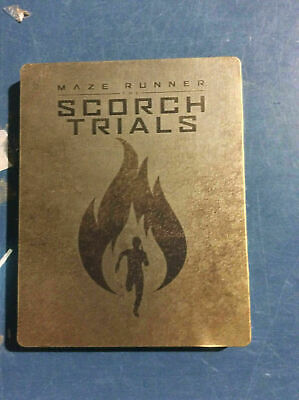 Maze Runner: The Scorch Trials - Limited Edition Steelbook [Blu-ray] AS IS!!(h)