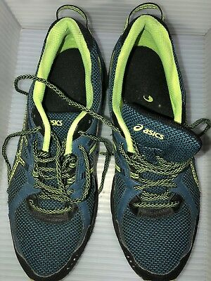 ASICS GEL SCRAM 3 BlackGrey Trail Running T6K2N Men 9.5 M