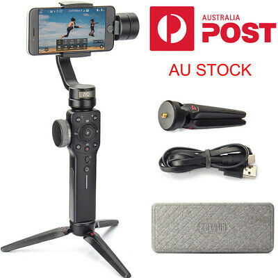 Remote+Zhiyun Smooth 4 3-Axis Handheld Gimbal Stabilizer for iPhone XS Max X 8 7