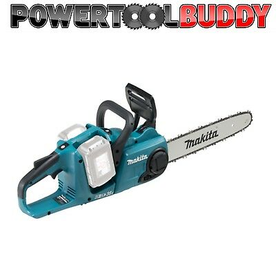 Makita DUC353Z Twin 18volt Cordless Chainsaw Li-ion Brushless Body Onl B43