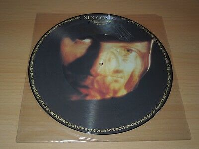 """Six Comm, Paradise, Calling, 12"""", Maxi, Picture Disc, Limited Edition, Signiert"""