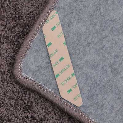 8Pcs Anti-curling Rug Gripper Carpet Corners Area Rug Gripper for Hardwood Floor