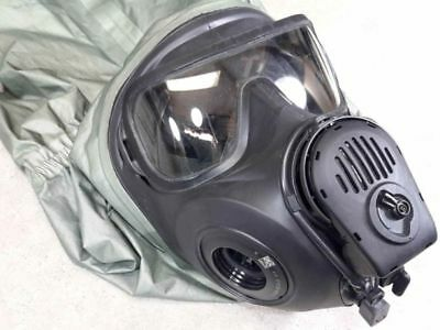 Avon Protection FM53 Gas Mask Large Right Hand Protective Biological Hood M53
