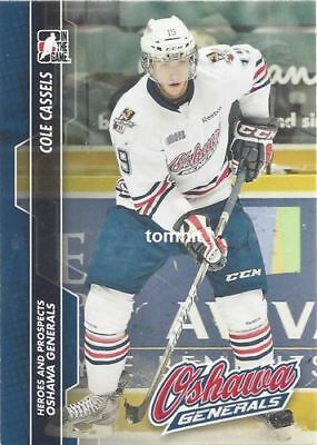Cole Cassels (Wolfsburg Grizzlys, DEL) 13-14 ITG Heroes and Prospects