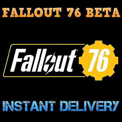 Fallout 76 Bethesda Code-BETA-PS4