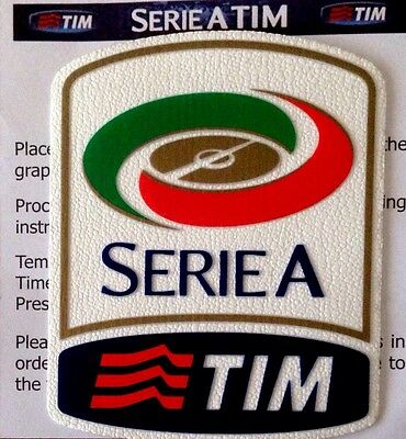 2015-16 Serie A TIM Lega Calcio OFFICIAL STILSCREEN Football Toppa Badge Patch
