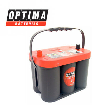 Rtc42 Batterie Original Optima Red Top 50ah 815a Fiat Freemont Jeep Wrangler