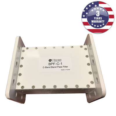 New Norsat BPF-C-1 C-Band Tape Pass Filter 3.70 - 4.20 GHz