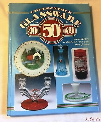 HC 1998 Collectible Glassware 40's -60's Illustrated value guide Gene Florence