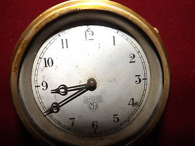 Antique Smiths Car Clock For Repair
