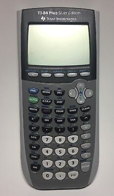 Texas Instruments TI-84 Plus Silver Edition Graphing Calculator w/ Cover