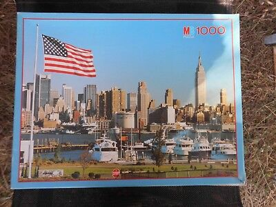 Puzzles & Geduldspiele MB Puzzle New York City 1000 Teile 1968