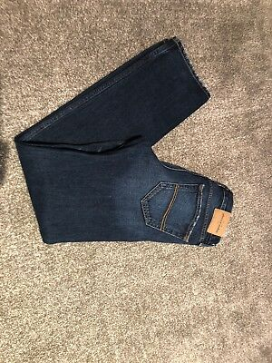 Abercrombie & Fitch boys slim straight jeans age 16 W28 L30 super condition