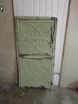Antique Decorative Tin Ceiling Double Tile Panel (4'x2'), #115