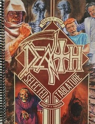 Death Guitar Tab / Tablature Best Of Death / Chuck  Schuldiner Guitar Tab / Rare