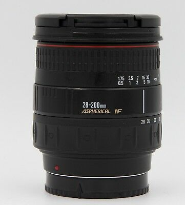 QUANTARAY (MADE BY SIGMA) AF 28-200mm f3.5-5.6 ASPHERICAL IF ZOOM LENS FOR SONY