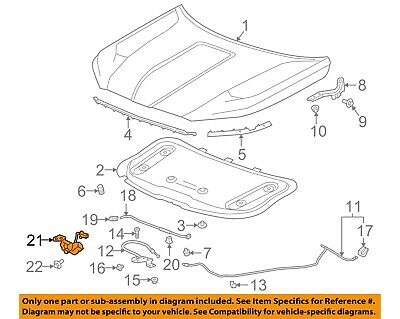 Chevy Aveo Hood Diagram