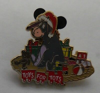 Disney Pin DSF Toys for Tots 2013 Eeyore Pin #2 LE500