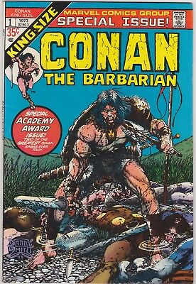 Conan the Barbarian King-Size Special Issue #1, Barry Windsor Smith,VF-NM,1973