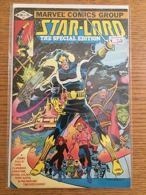 Star-Lord The Special Edition #1 Comic Book Byrne Marvel 1981