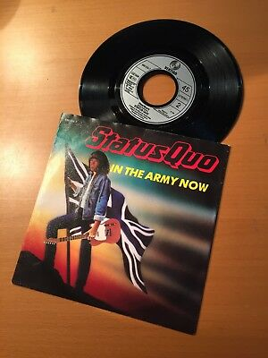 """7"""" Stats Quo - In The Army Now  -  888 056-7"""