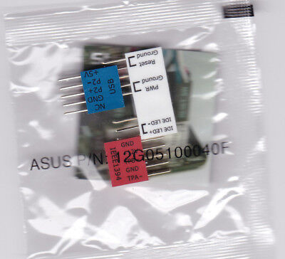 NEW GENUINE ASUS Q-Connector Front Panel USB IEEE1394 FireWire Kit 12G05100040F