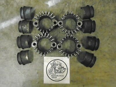1976 Honda Cb750-4 F1 Exhaust Mount Rings & Shells