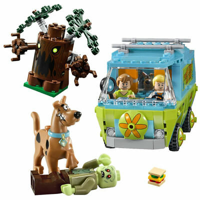 Scooby Doo The Mystery Machine Bus Building Block Figure Toys lego Toys Bricks
