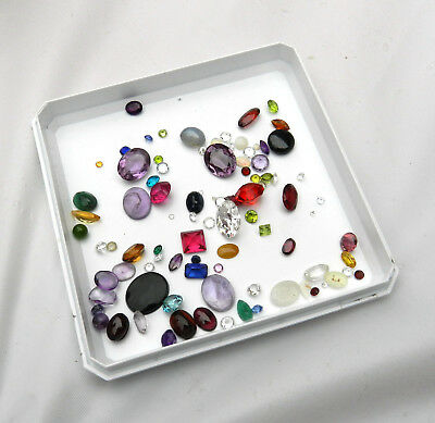 Assorted Lot of 50 ctw Semiprecious Stones From Jewelers Estate # M0011