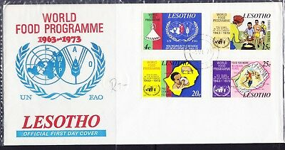 Lesotho 1973 World Food Programme First Day Cover