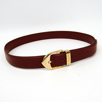 Louis Vuitton Epi Men s Epi Leather Belt Brown,Gold 85 Ceinture Classic  BF325006 888df80e053