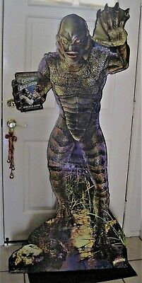 Advertising Creature From The Black Lagoon 6 ft Tall Standee VERY RARE!