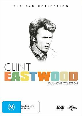Clint Eastwood Four movie Collection Box Set DVD Region 4 NEW