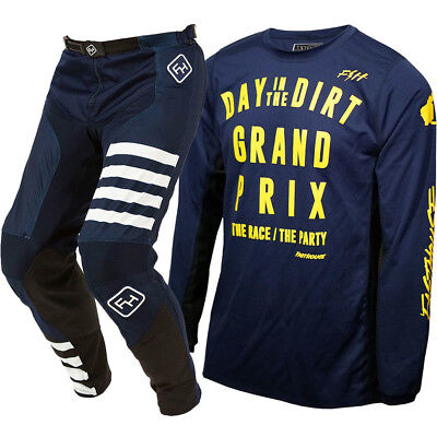NEW Fasthouse LE 2018 Day In The Dirt Down Under Aussie Navy Motocross Gear Set