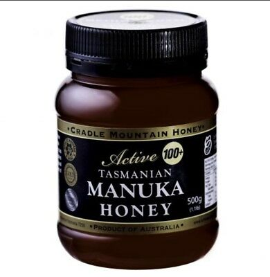 Cradle Mountain Active (100+) Tasmanian Manuka  honey, 500g