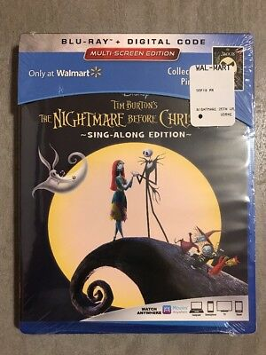 disney tim burtons the nightmare before christmas bluray walmart exclusive pin