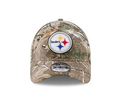 PITTSBURGH STEELERS  47 Brand Camo Realtree Frost MVP Adjustable Hat ... 35e933740