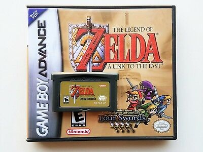 Legend of Zelda Link to the Past Four Swords (Game + Case) Game Boy Advance GBA