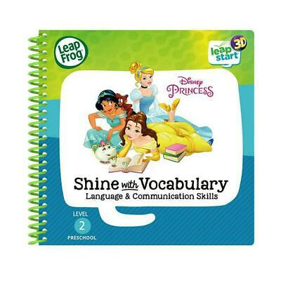 LeapStart 3D Enhanced Book Disney Princesses Shine with Vocabulary - LeapFrog Fr
