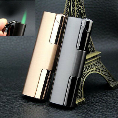 Windproof Long Type Metal Jet Lighter Cigarette Butane Gas cigar Wholesale US -