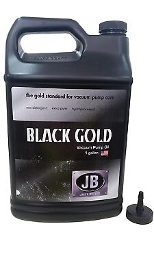 Jb Usa Automotive / Refrigeration Bottle Of Vacuum Pump Oil 3.785L Dvo-24
