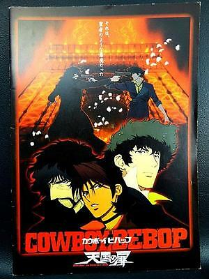 COWBOY BEBOP Program Guide Book Anime Japan Movie Knockin' on heavens Door