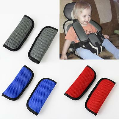 2x Auto Car Seat Belt Cover Seat Shoulder Pad Seatbelt Cushion Safety Strap