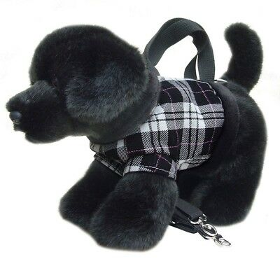 Faithful Friends Labrador Black Soft Toy Dog Handbag/Shoulder Bag 12""