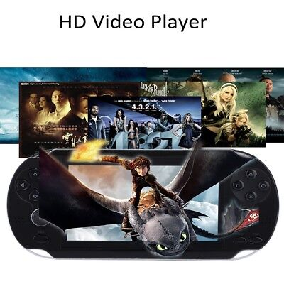 4.3'' TFT Game Player 32bit Xmas Game 8GB Video Console Handheld Built-in Hot