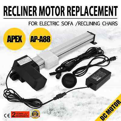APEX AP-A88 Recliner Motor Replacement Kit for Electric Sofa Chairs